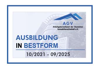 Ausbildungssiegel AGV - Ausbildung in Bestform