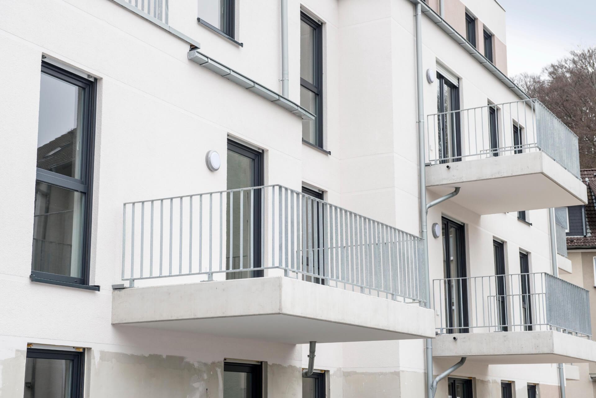 Neubau Mehrfamilienhaus Kupferdreher Str. 260 / Möllneyer Ufer 15, Foto: Stefan Kuhn