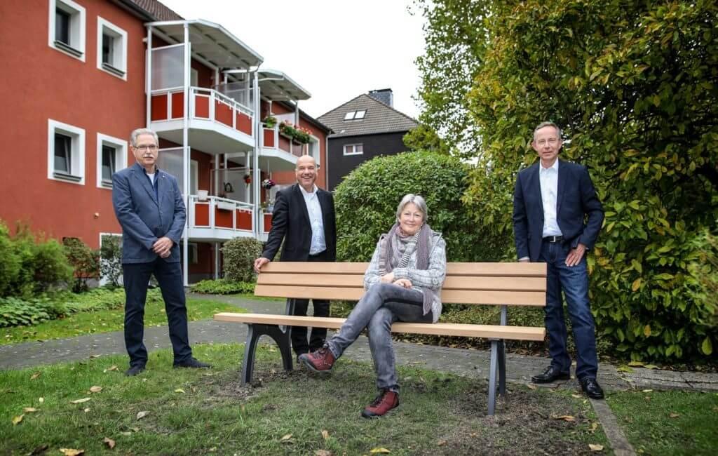 Neue Sitzgelegenheiten in Katernberg