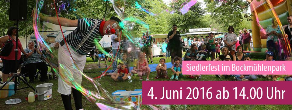 Siedlerfest am 04. Juni 2016