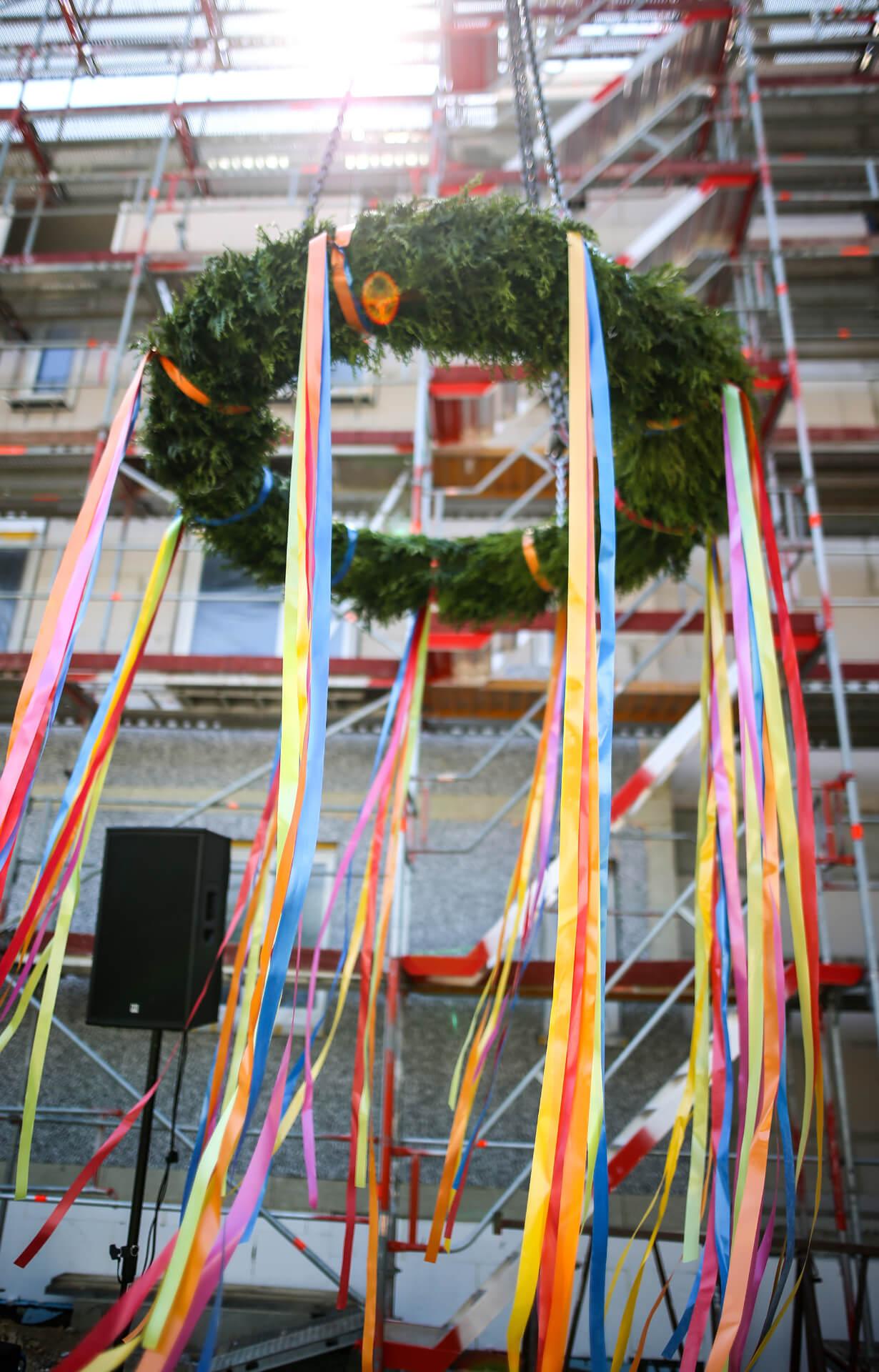 Richtfest Benno-Jacob-Straße