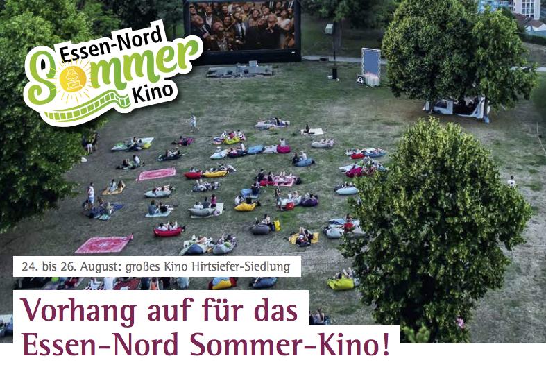 Vorhang auf für das Essen-Nord Sommer-Kino
