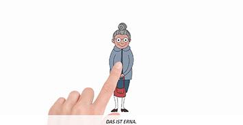 Teaser Erklärvideos Erna